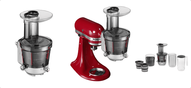 Slowjuicer Tilbud Kitchenaid : Artisan slow juicer Husholdningsapparater